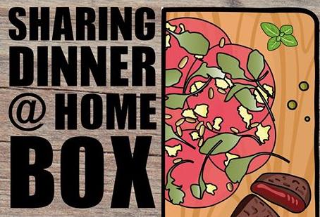 Sharing dinner @ home box